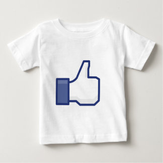Facebook Like Button Baby T-Shirt