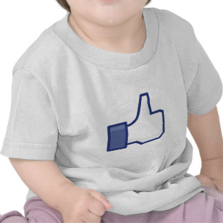 Facebook Like Button T Shirts