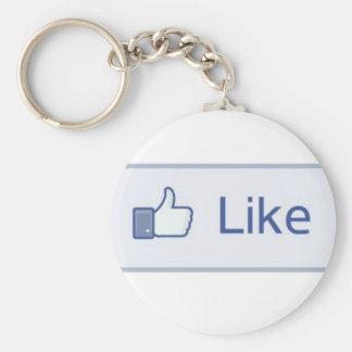 Facebook 'Like' Keychain