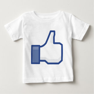 facebook LIKE me thumb up! Baby T-Shirt