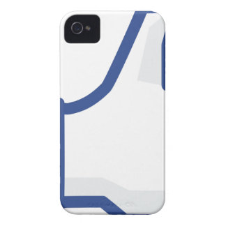 facebook LIKE me thumb up! iPhone 4 Case