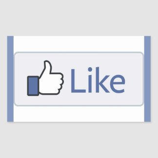 Facebook Like stickers