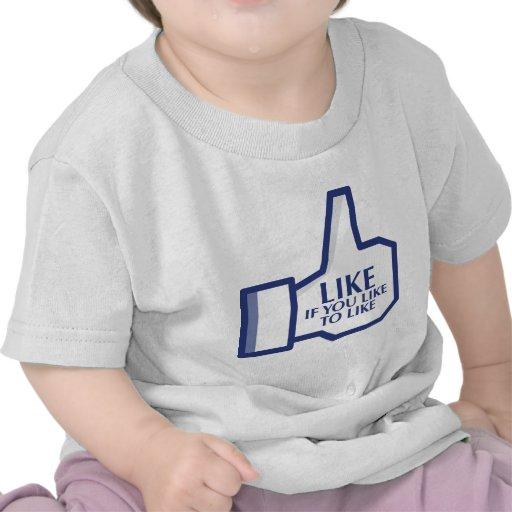 Facebook Like Tee Shirt