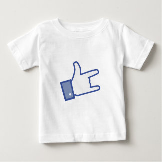 Facebook like You Rock thumb Rock and Roll icon Shirt