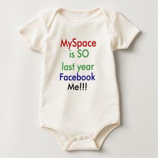 Facebook, Me!!! Baby Bodysuit