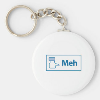 Facebook Meh Key Chains