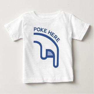 facebook POKE here finger Infant T-Shirt