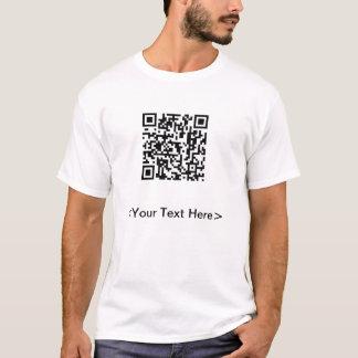 Facebook QR Code T-Shirt