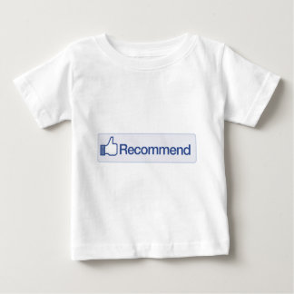facebook recommend button funny graphic icon shirt