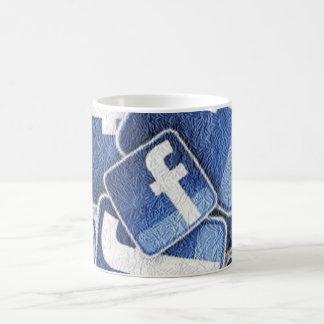 Facebook Revolution Basic White Mug