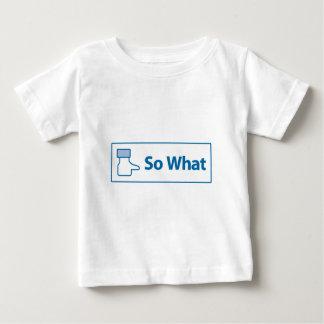 Facebook So What Shirt