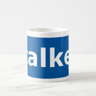 facebook stalker basic white mug