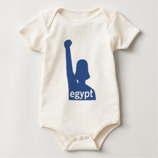 Facebook Supports Egypt - Female Baby Bodysuit