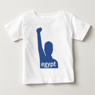 Facebook Supports Egypt - Male Baby T-Shirt