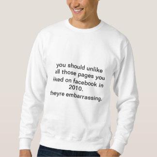 Facebook Sweater Pullover Sweatshirt