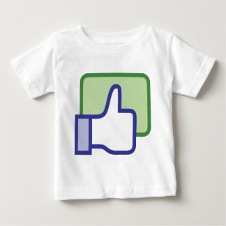 Facebook thumb up baby T-Shirt