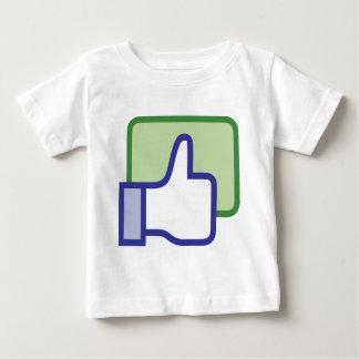 Facebook thumb up tshirts