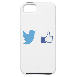 Facebook Twitter Case For The iPhone 5