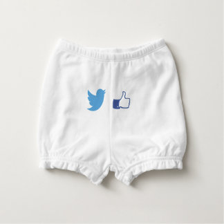 Facebook Twitter Nappy Cover