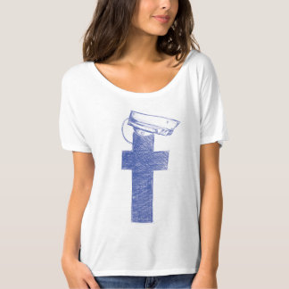 Facebook Watchman Women modern T-shirt