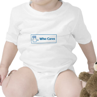 Facebook Who Cares T Shirt
