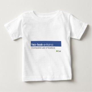 Facebookaholic Tshirts