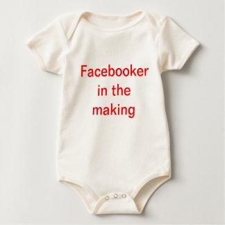 Facebooker Baby Bodysuit