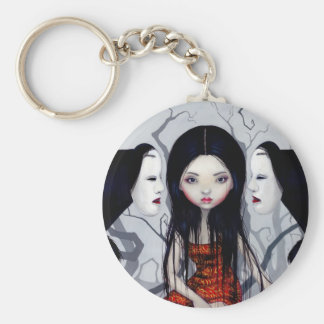 """Faceless Ghosts"" Keychain"