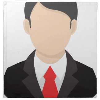 Faceless Man Napkin