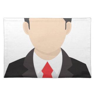 Faceless Man Placemat