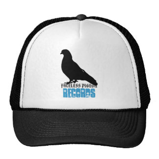 Faceless Pigeon Records Hats