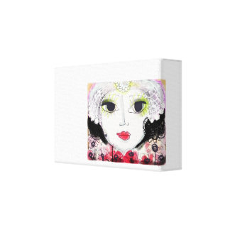 Faces. Always, just Faces. Canvas Print