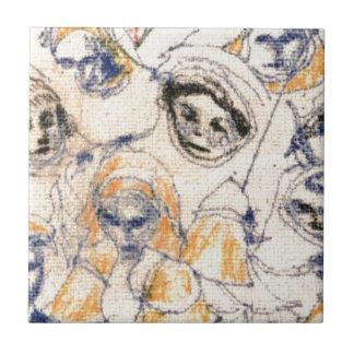 Faces Ceramic Tile