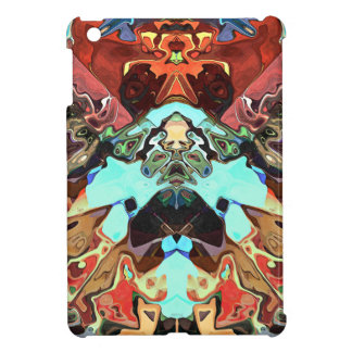 Faces In Abstract Shapes 2 iPad Mini Covers