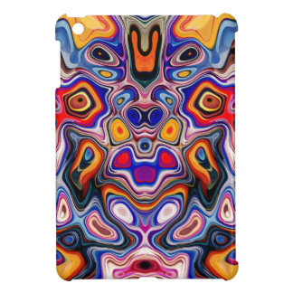 Faces In Abstract Shapes 3 iPad Mini Covers