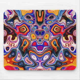 Faces In Abstract Shapes 3 Mouse Pads