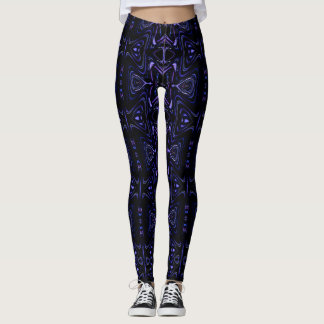 Faces in the Night. They're watching you! Leggings