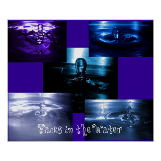 Faces in the Water Poster