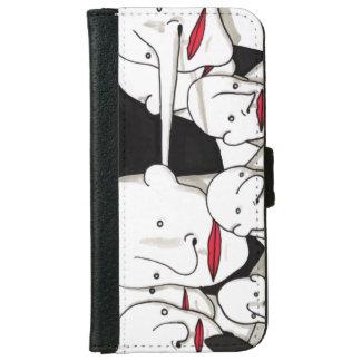 Faces - iPhone 6 Wallet Case