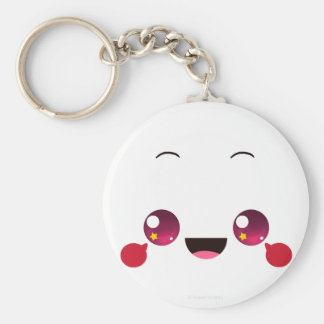 Faces - Megumi Basic Round Button Key Ring