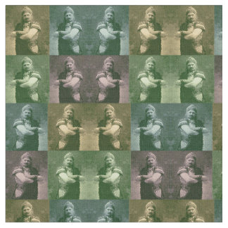 faces of 1909 crazy French opera singer Fabric
