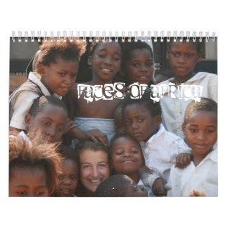Faces of Africa - Customized - Customized Wall Calendar
