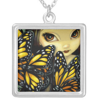 Faces of Faery 90 NECKLACE butterfly fairy