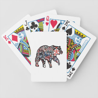 FACES OF FOREST BICYCLE PLAYING CARDS