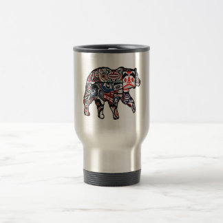 FACES OF FOREST TRAVEL MUG
