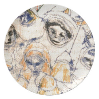 Faces Plate