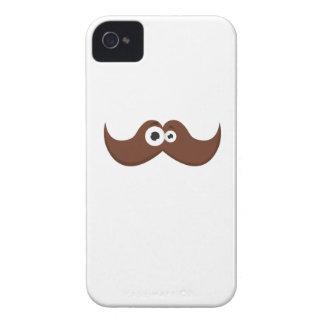 Facetache - The moustache with a face Case-Mate iPhone 4 Case