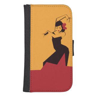 Faceted Flamenco Samsung S4 Wallet Case