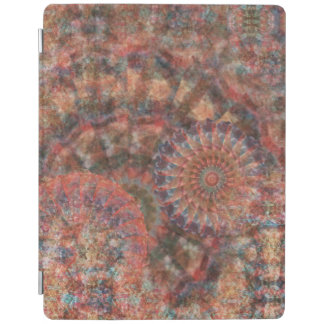 Faceted Wheels Colourful iPad Cover