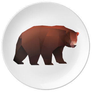 Facetnation Grizzly Bear Plate